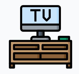 TV, audio, video